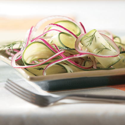 SPLENDA® Cucumber and Onion Salad