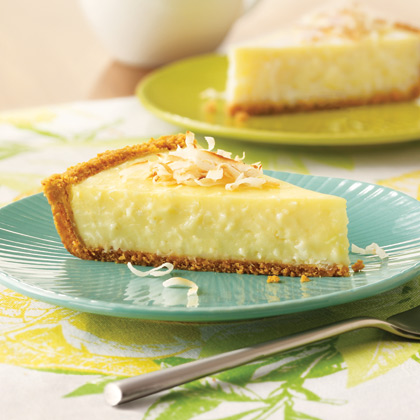 SPLENDA® Island-Lover's Coconut Cream Pie