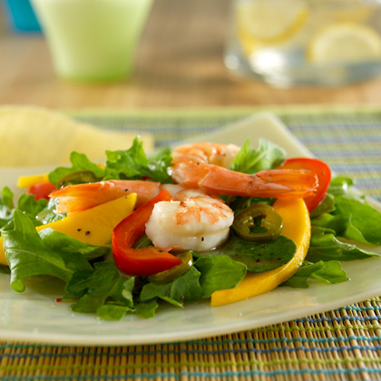 SPLENDA® Lorena Garcia's Lemon Glazed Jumbo Shrimp Salad