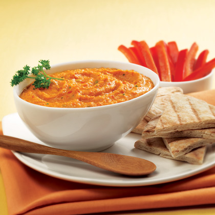 SPLENDA® Sweet Red Pepper Hummus