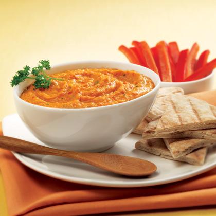 SPLENDA® Sweet Red Pepper Hummus