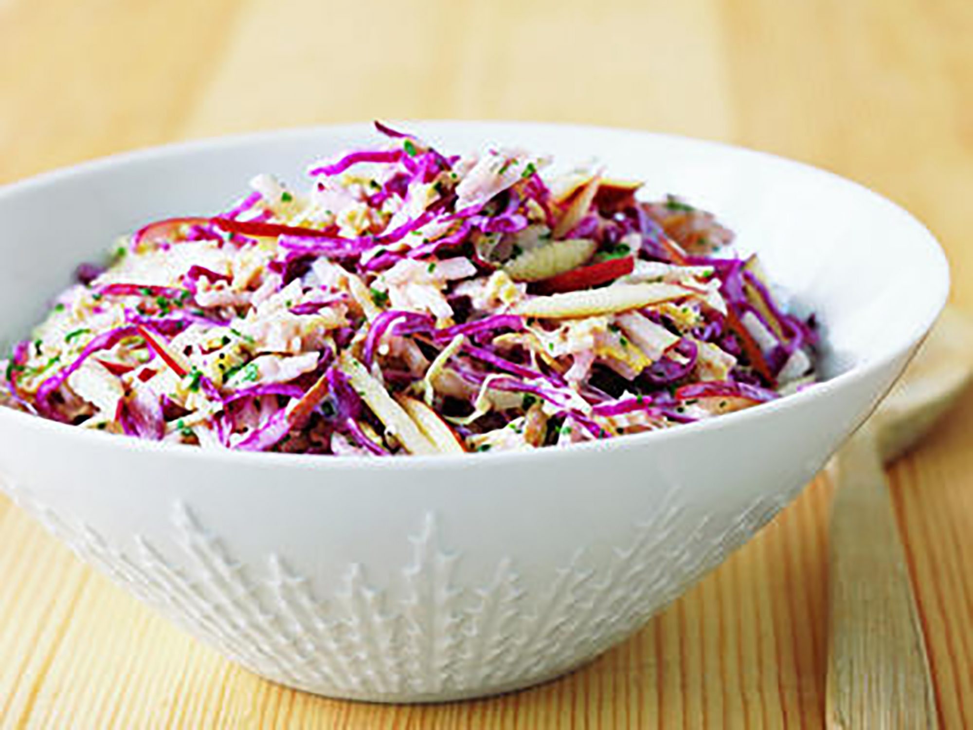 Cabbage and Apple Slaw