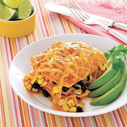 Slow-Cooker Enchilada Casserole Recipe