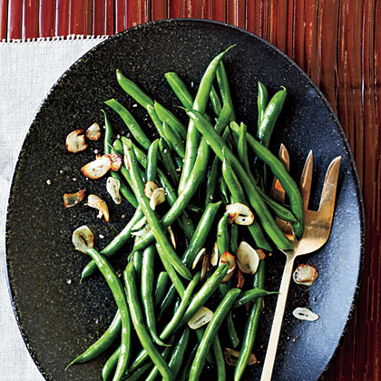 ck-Green Beans with Toasted Garlic