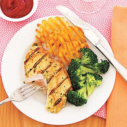 Grilled Tarragon-Mustard Chicken