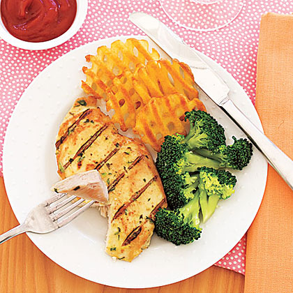 Grilled Tarragon-Mustard Chicken Recipe