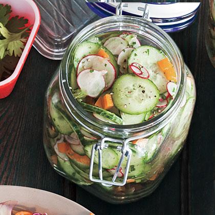 Lemony Cucumber Salad Recipe