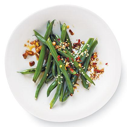Sesame-Soy Green Beans