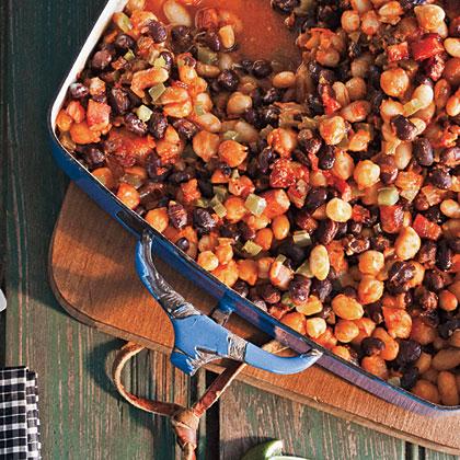 Smoky Three-Bean Bake Recipe