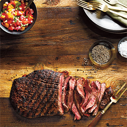 Our Best Grilled Flank Steaks