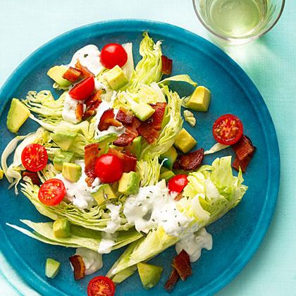 Rosemary Bacon, Lettuce, and Tomato SaladRecipe