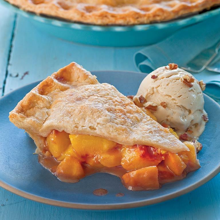 Brown Sugar-Cinnamon Peach Pie Recipe