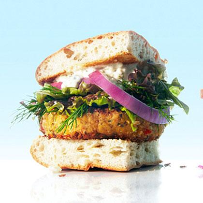 Northwest Crabcake Burgers Recipe