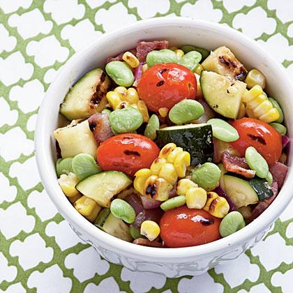 Grilled Summer Veggie SuccotashRecipe