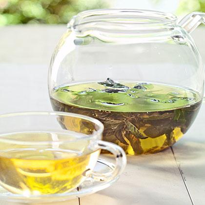 Moroccan Chocolate Mint Tea
