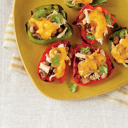 Pepper and Chicken Nachos