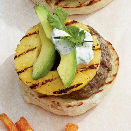 Pineapple-Jalapeno Burgers