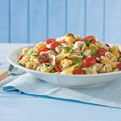 Tortellini-and-Tomato Salad Recipe