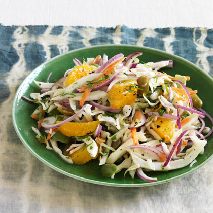 <p>Fennel-Orange Slaw</p>