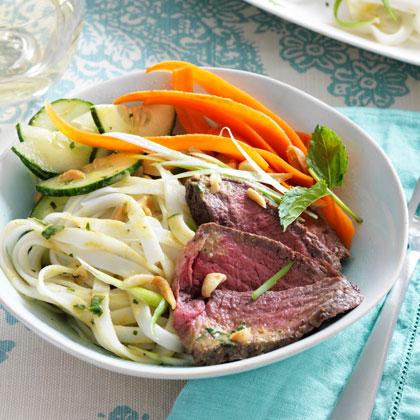 <p>Curry-Coconut Steak and Noodle Salad</p>