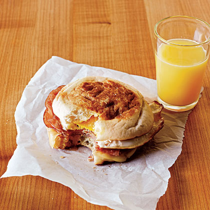Ham and Swiss Egg SandwichesRecipe