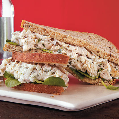Herbed Chicken Salad Sandwiches Recipe