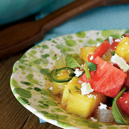Southwest Watermelon Salad Recipe