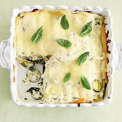 Zucchini-and-Spinach LasagnaRecipe