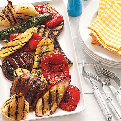 Citrus-Herb Grilled Vegetables Recipe