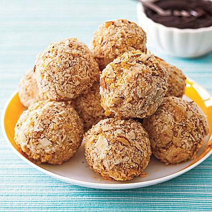 Fried  Ice Cream Truffles