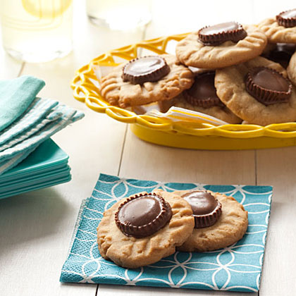 Peanut Butter-Cup CookiesRecipe