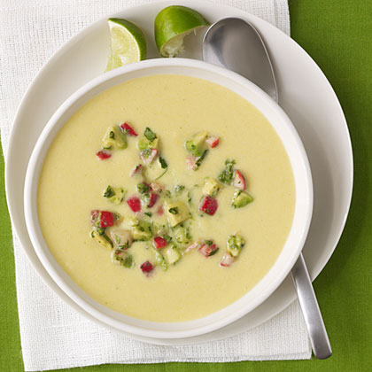 Chilled Corn Soup Recipe