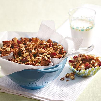 Chocolate-Cranberry Crunch Recipe