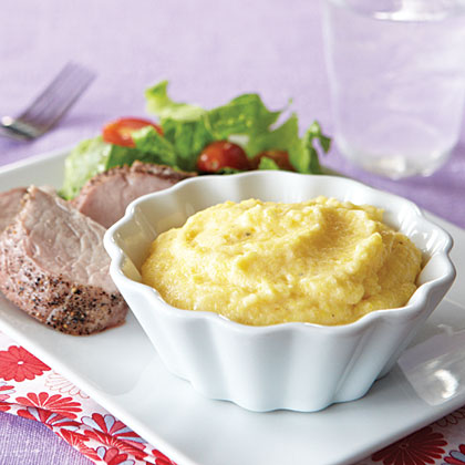 Creamy Two-Cheese Polenta Recipe