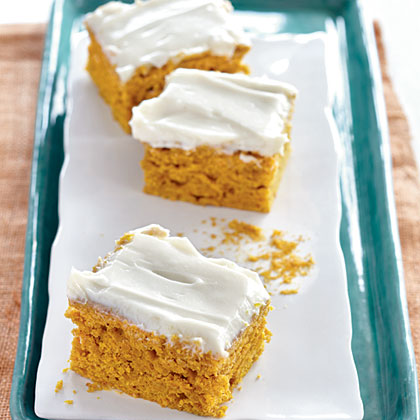 Frosted Pumpkin Cake Recipe