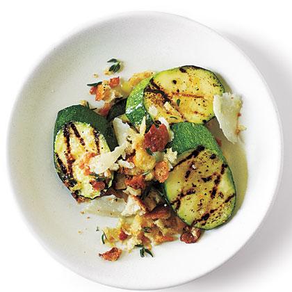 ck-Parmigiano-Crumbed Zucchini with Sea Salt