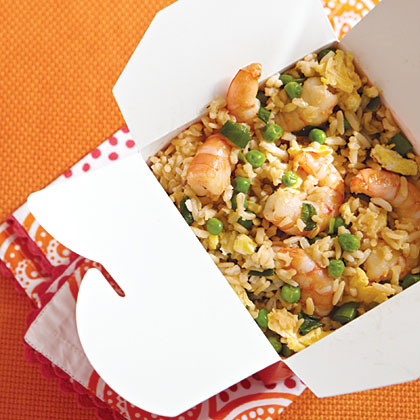 "Shrimp ""Fried"" Rice"