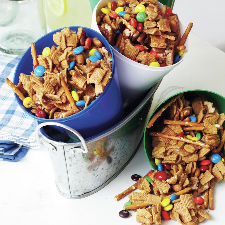 Graham Nut Clusters Recipe