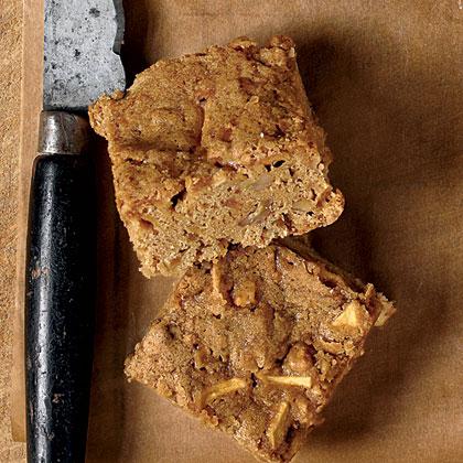 Apple-Butterscotch Brownies