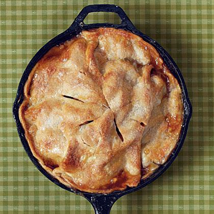 easy skillet apple pie recipe myrecipes - Americas Test Kitchen Apple Pie