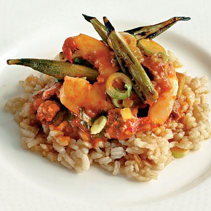 Lowcountry Shrimp-and-Okra Pilau