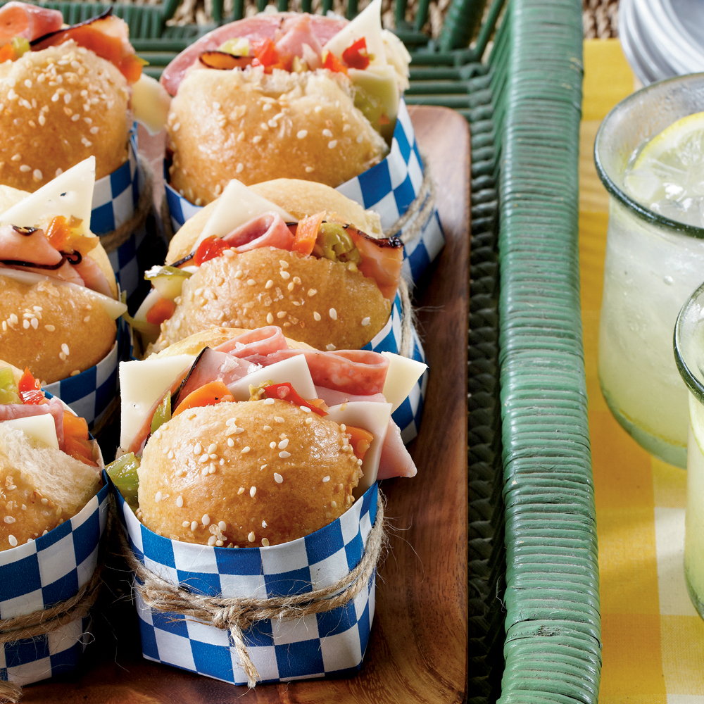 Mini Muffulettas