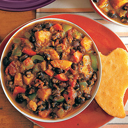 Black Bean and Butternut Squash Chili Recipe
