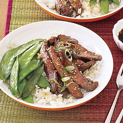 Korean Beef Stir-FryRecipe