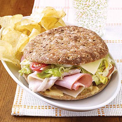 Lighter Deli Sandwiches Recipe