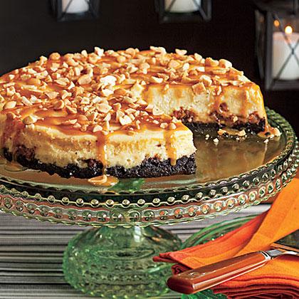 Snickers CheesecakeRecipe