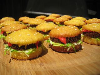 Sweet Little Slider Cupcakes