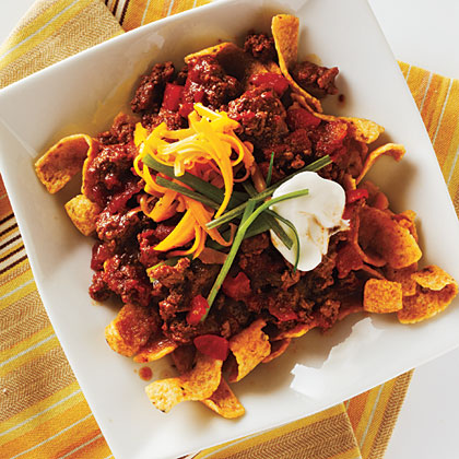 Chili-Corn Chip Pie