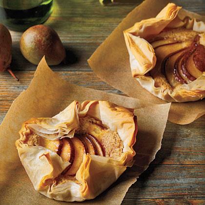 Frangipane Pear Tarts Recipe