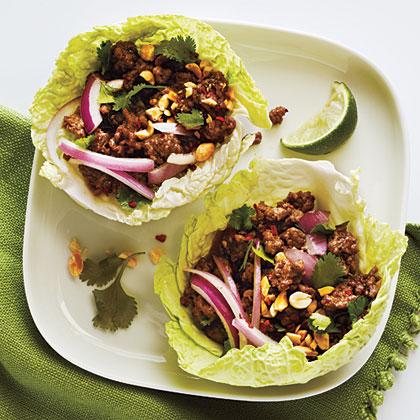 Thai Beef Cabbage CupsRecipe